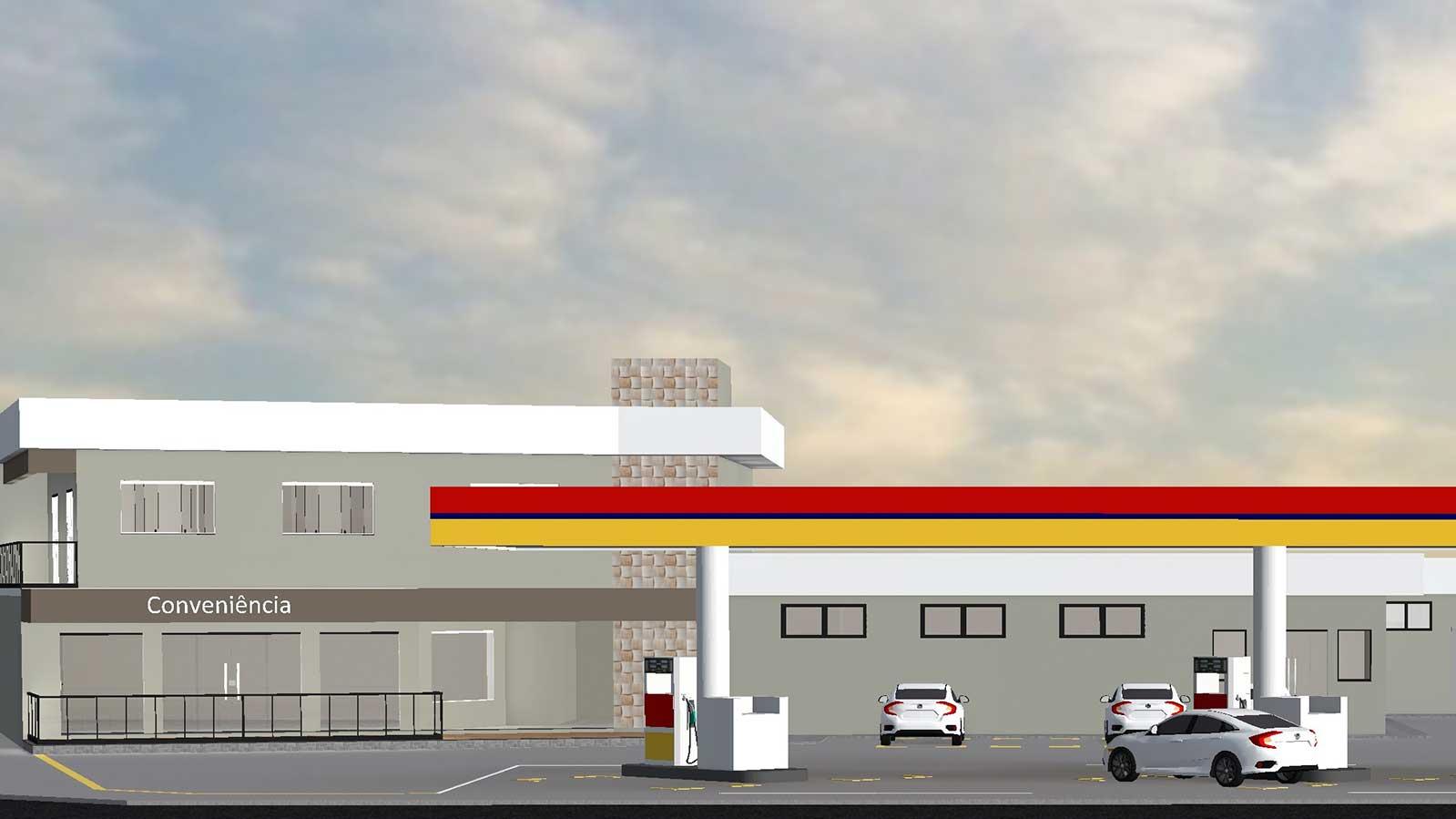 Posto-de-gasolina